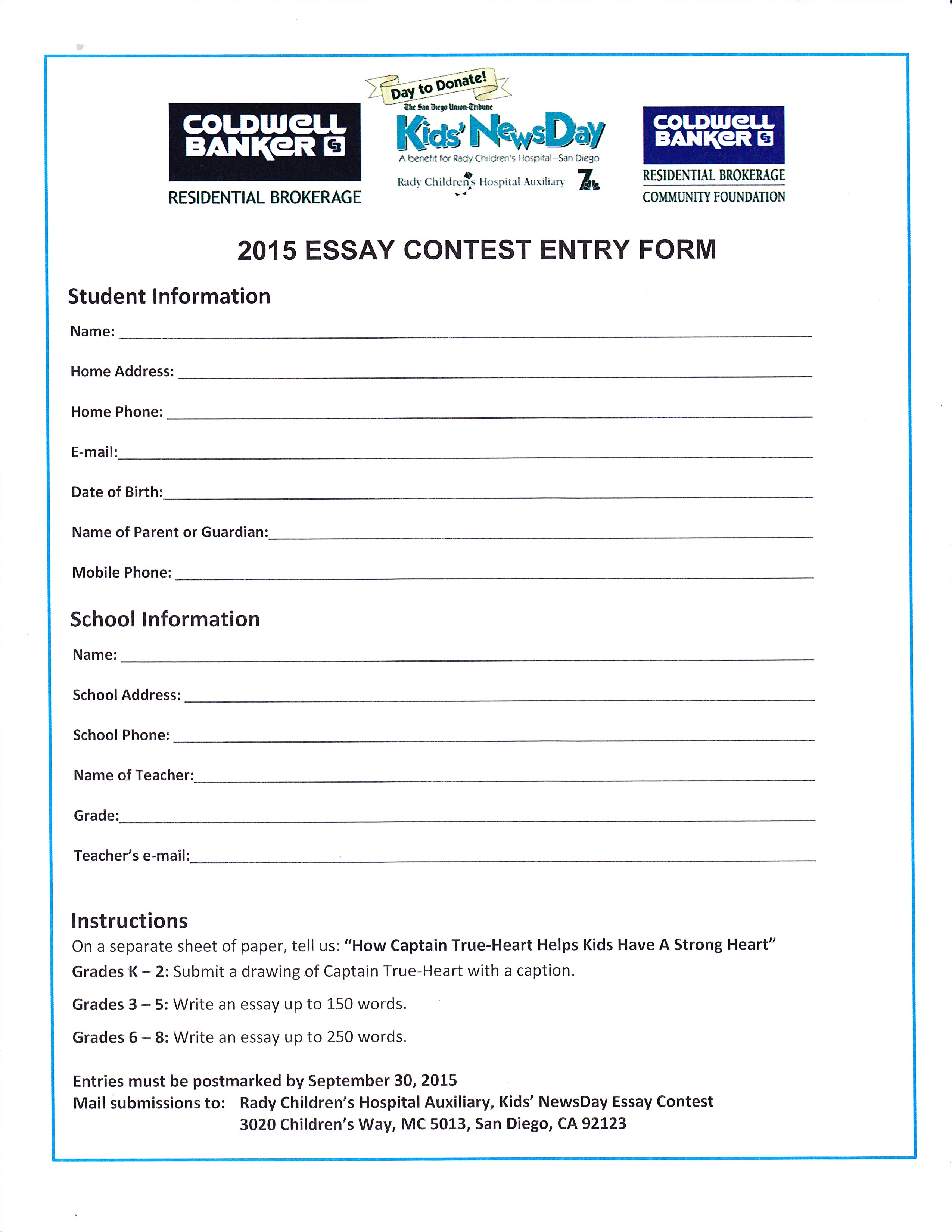 kids news day essay writing contest due sept th huskies  scn 0097